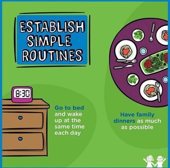 Establish Simple Routines