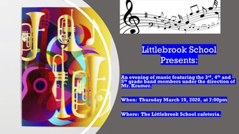 Littlebrook School Band Concert