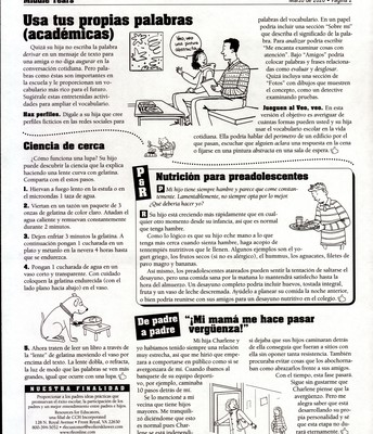 Middle Years Spanish page 2