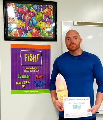 Mr. Spinks - Character Trait of the Month - Attitude