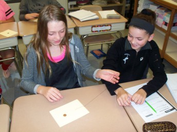 6th Grade Experiments with Inertia