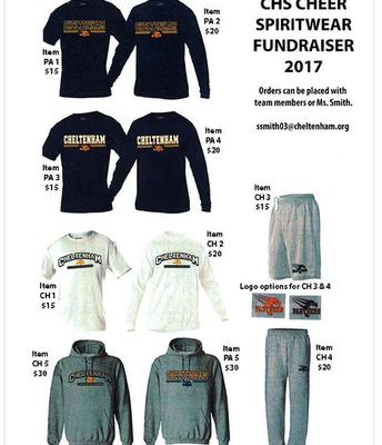Spirit Wear Fundraiser