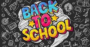 School Begins on August 12th.