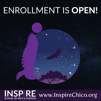 Enrollment is OPEN!  Inspire siblings, welcome