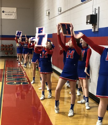 """Follow """"Harpeth Middle Cheer"""" on Facebook for reminders and other important information!"""