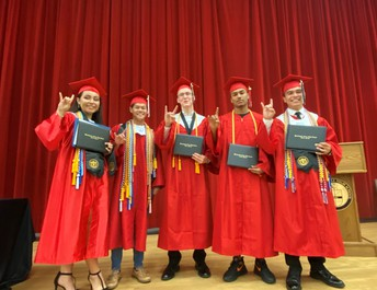 Congratulations to the five Bloomingdale graduates who will be joining military academies prior to graduation. Devin Dyer-U.S. Merchant Marine Academy, Maurice Frost-U.S. Naval Academy Prep School, Caleb Hancock-U.S. Merchant Marine Academy, John Vuong-U.S. Naval Academy and Daphny Wilches-U.S. Air Force Academy.