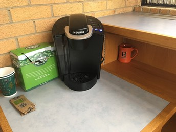 A new home for my unused coffee machine