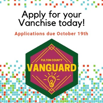 Last Call! Vanchise Applications & Renewals- Due Oct 19th