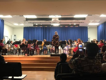 Myers MS Band Winter Concert