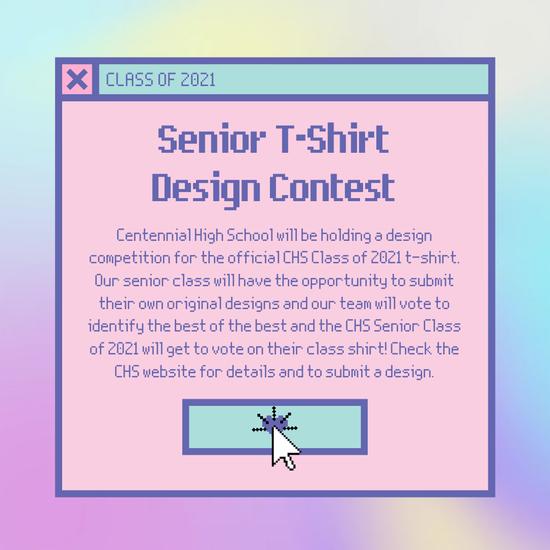 Senior T-Shirt Design Contest