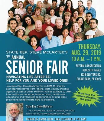 Rep. McCarter's Senior Citizen Fair