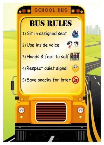 School Bus Safety Week October 19-23
