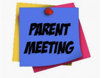 5th Grade Parent Meeting