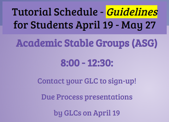 Academic Stable Groups (ASG)