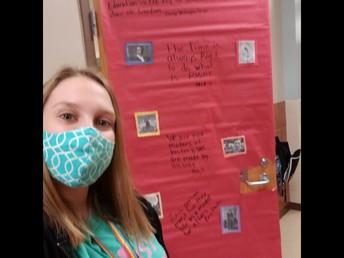 Ms. Beran celebrates BHM!