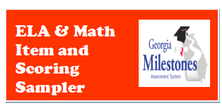 Item and Scoring Sampler for ELA and Math