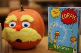 Book Themed Pumpkin Decorating Contest