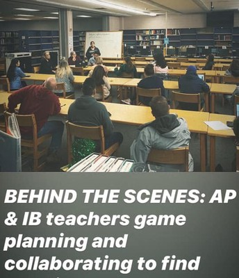 MONDAY: AP & IB Meeting