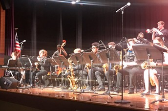 End of year Jazz Band Performance