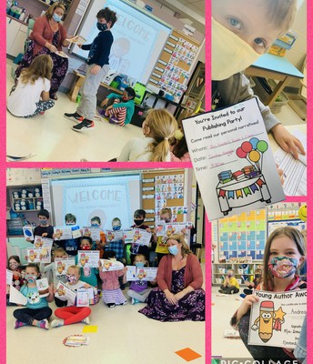 Publishing Party in Grade 1: We wrote our first books!