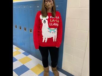 Festive Ms. Lipnoski