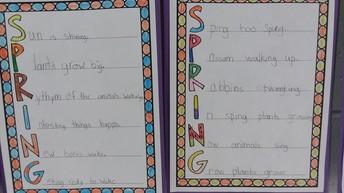 Spring acrostics