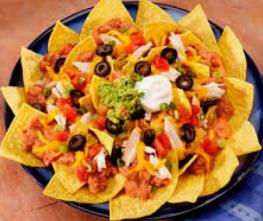 Plate of nachos