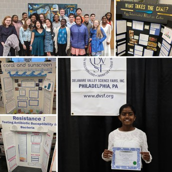 Cedarbrook Students Compete in County, Regional Science Competitions