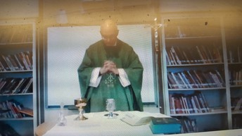 Mass with Fr Mecca