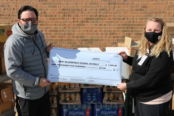 Scotch receives donation from local Meijer store