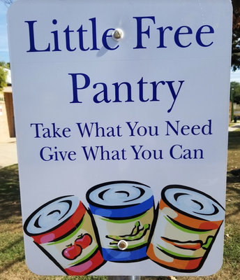 Little Free Pantry!