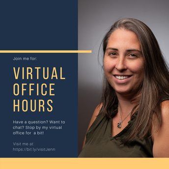 Virtual Office Hours with Jenn