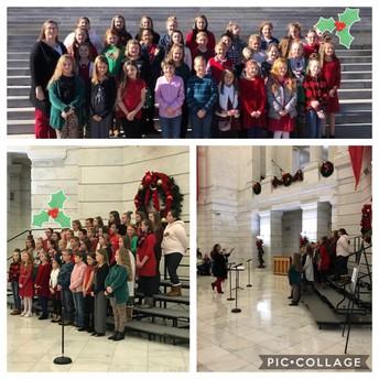 Choir Field Trip to the Capital!