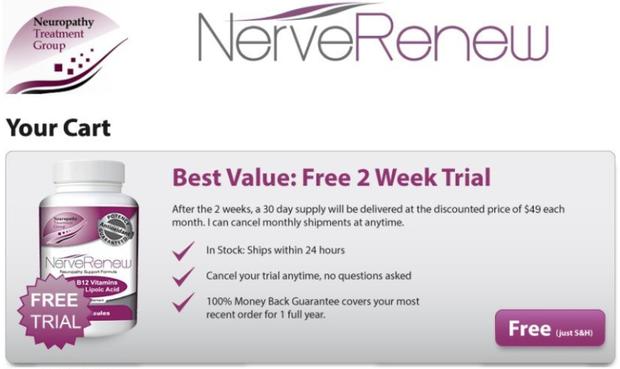 nerve renew benefits