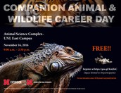 Companion Animal and Wildlife Career Day @ UNL