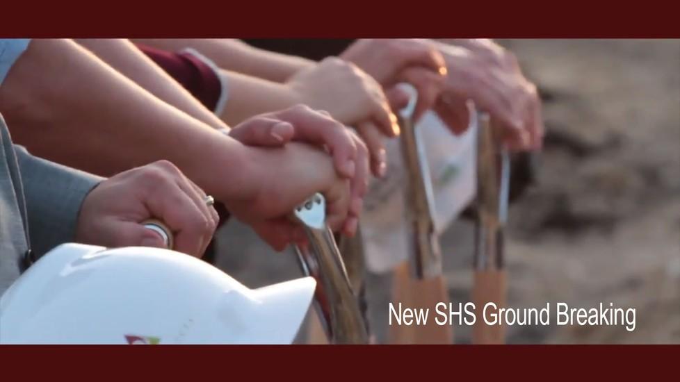 New SHS Ground Breaking