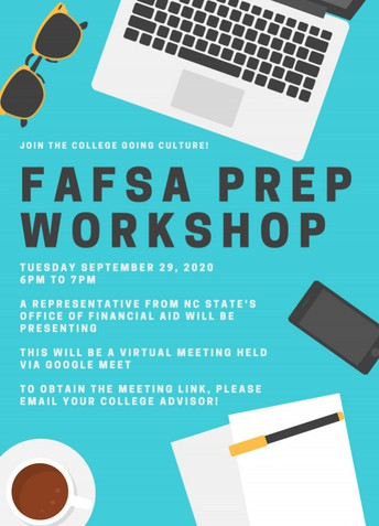 FAFSA Prep Workshop