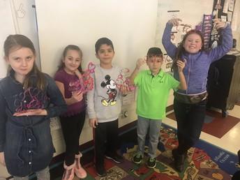 3rd Grade Valentine Challenge