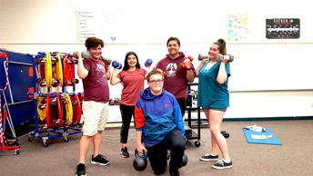 P.E. Group Work Out - October 11th