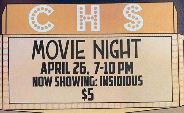 Movie Night Ad