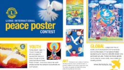 Lions Club: Peace Poster Art Contest