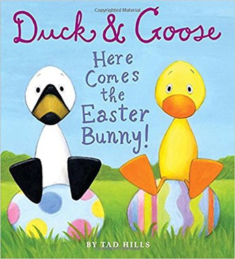 Duck & Goose:  Here Comes the Easter Bunny