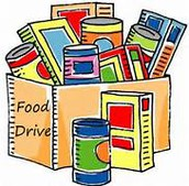 MES Annual Canned Food Drive Benefits Milan Food Pantry