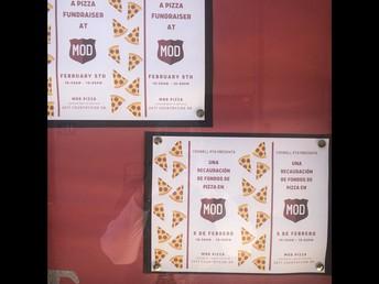PTA Fundraiser @ MOD Pizza ~ Yummmm