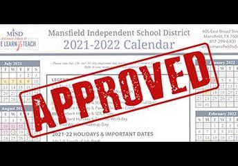 MISD School Board Approves 2021-22 Calendar