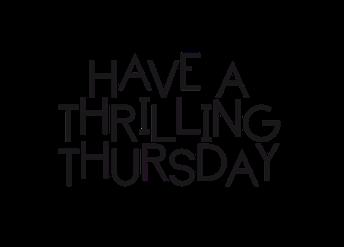 Thursday, April 12
