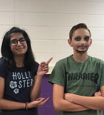 Drama:  Makeup project