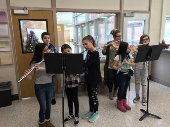 Students Serenade IMS