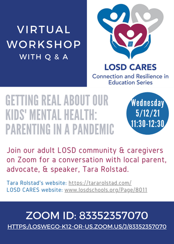 LOSD CARES Virtual Workshop