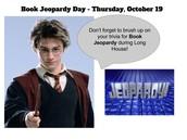 Book Jeopardy Day